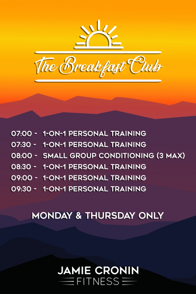 Breakfast Club Timetable